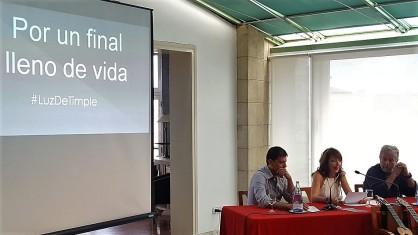 """Benito Cabrera, Marga Abreu y Domingo Rdez """"El Colorao"""""""